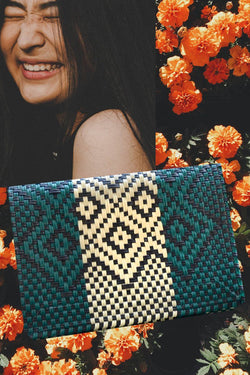 Mitla clutch bag