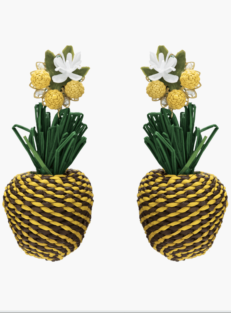Piña silvestre earrings