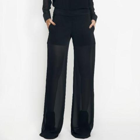 Pantalon transparent