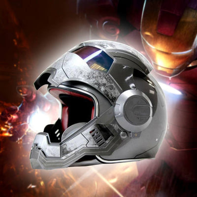 IronMan Motorcycle Helmet