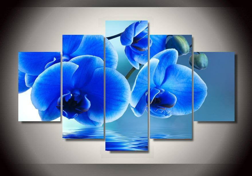 Canvas - Blue Flower Canvas