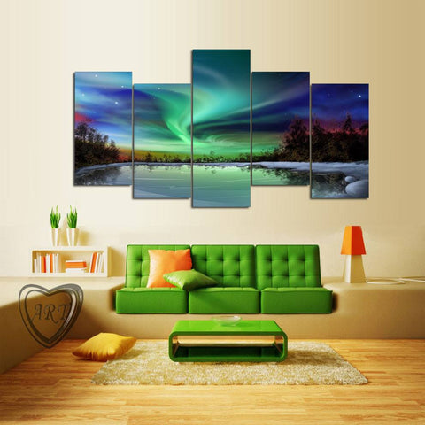 Canvas - Northern Lights Canvas 5