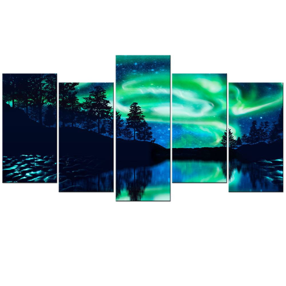 Canvas - Northern Lights Canvas 6