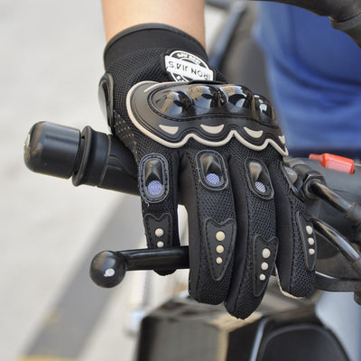 Motorcycle - Touch Screen & Protective Motorcycle Gloves