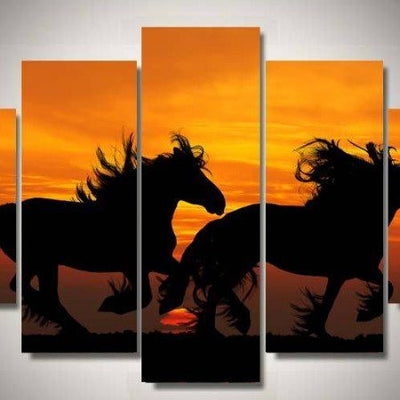 Wallart2 - Gallop By The Sunset