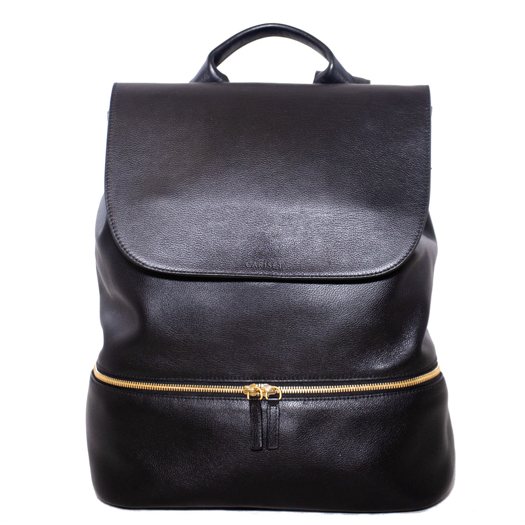Women s Leather Backpack - The Everyday – Cariset 3b2e22e13f