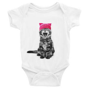 Cat in a Pink Hat Infant Bodysuit