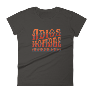 Adios, Hombre Anaranjado (Goodbye, Orange Man) Women's Premium T-Shirt