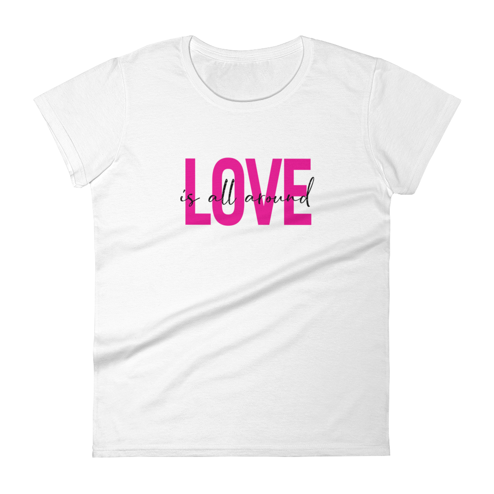 Love is all Around Women's Premium T-shirt