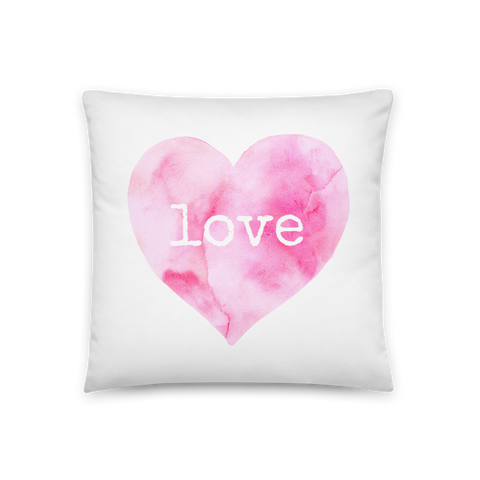 Love Square Pillow