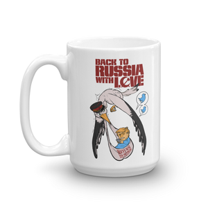 Back to Russia with Love 15oz Mug
