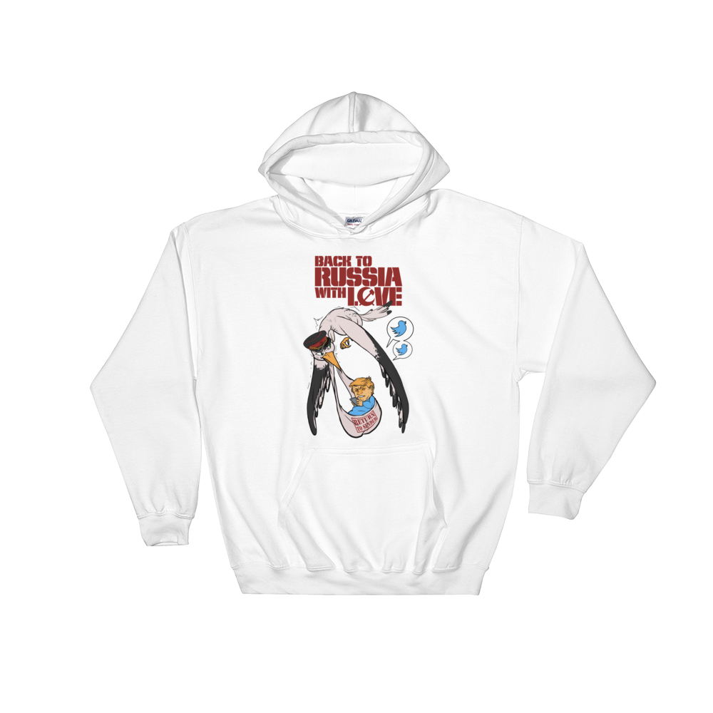 Back to Russia with Love Hooded Sweatshirt