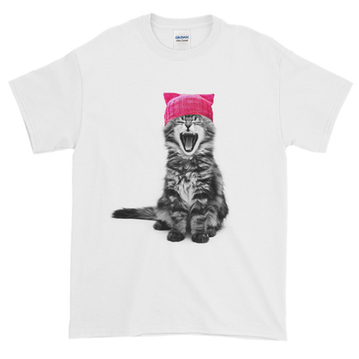 Cat in a Pink Hat T-Shirt