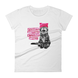 Pussy's Getting a Little Upset Women's Premium T-Shirt