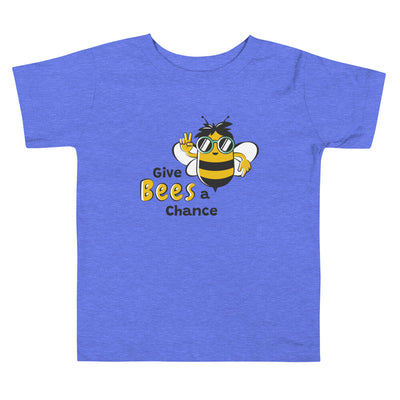 Give Bees a Chance Toddler Short Sleeve Tee
