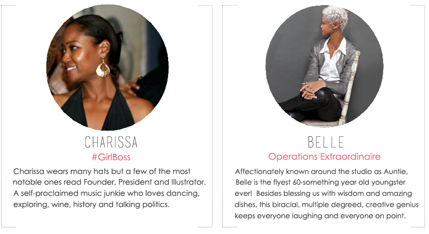 About the Fab Design Company Team Members, Charissa Ware & Belle