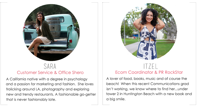 About the Fab Design Company Team Members, Itzel and Sara