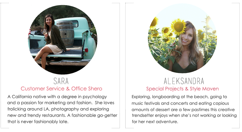 About the Fab Design Company Team Members, Sara & Aleksandra