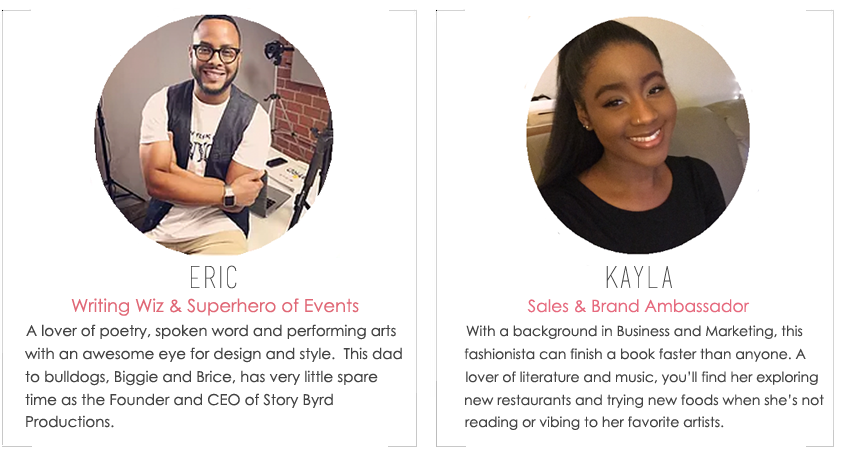 About the Fab Design Company Team Members, Eric Byrd & Kayla
