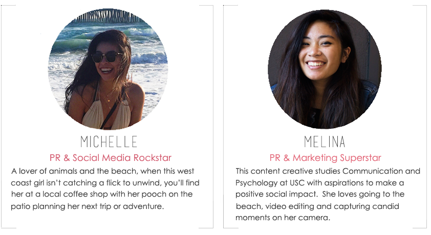 About the Fab Design Company Team Members, Michelle & Melina