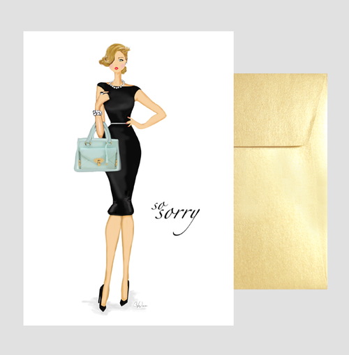 Stylish Greeting Card Assortment Gift Box, Sympathy or Sorry