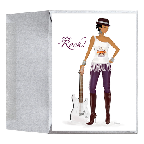 African American Birthday, Congratulations, Thank You Greeting Card