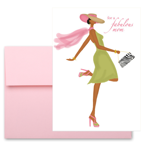 Fun, Fabulous Happy Mother's Day Greeting Card Gift for Mom, Wife
