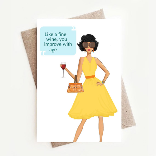 Quotable Birthday Card Assortment (6 designs)