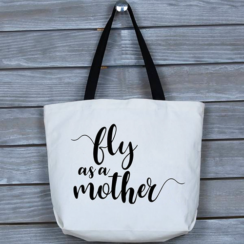 Fun, Funny, Fly As A Mother Tote Bag, Gift for Mom, Mothers
