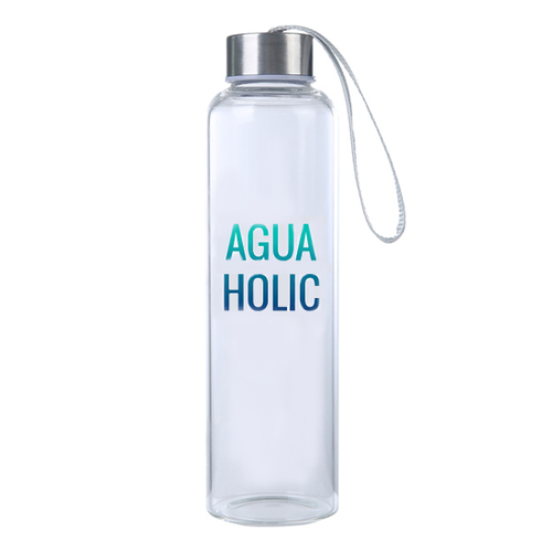 Aguaholic Glass Bottle