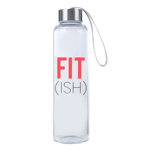 Fun, Funny Motivational Fit Ish Hydro Water Bottle, Travel Tumbler