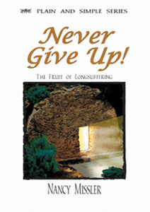 Never Give Up! - Book