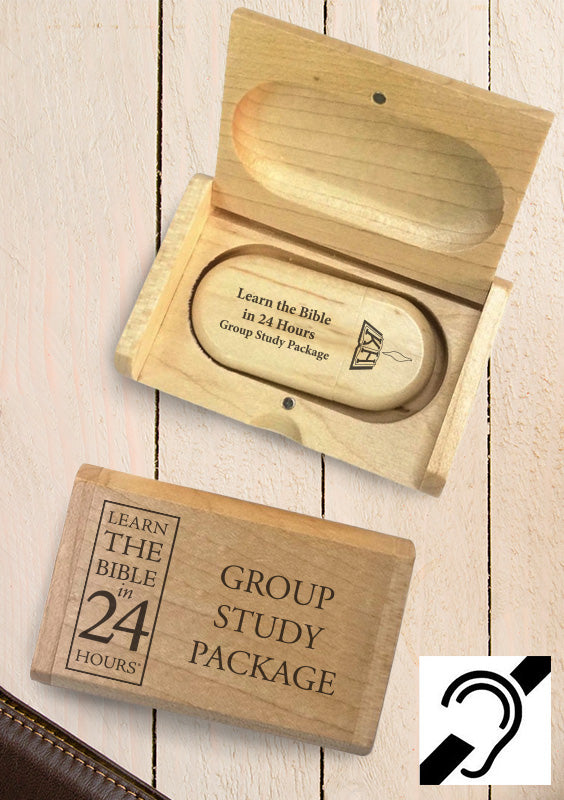 Learn the Bible in 24 Hours - Group Study Pack