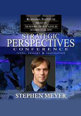 SP2010E07: Stephen C. Meyer, PhD - DNA And The Evidence For Intelligent Design
