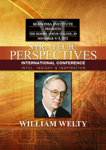 SP2011E04: William Welty - When Life Isn't Linear