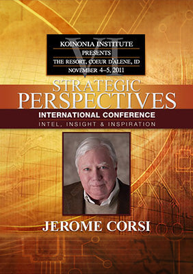 SP2011E07: Dr. Jerome Corsi - Obama and the Deception