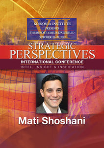 SP2012E06: Mati Shoshani - Israel's New Threats