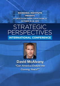 SP2013E09: David McAlvany - Can America Endure the Coming Years?