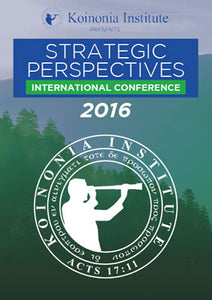 2016 Strategic Perspectives Conference XI