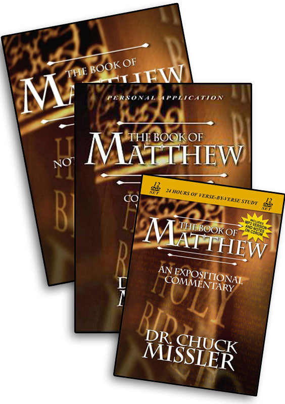 Matthew: Commentary Study Set