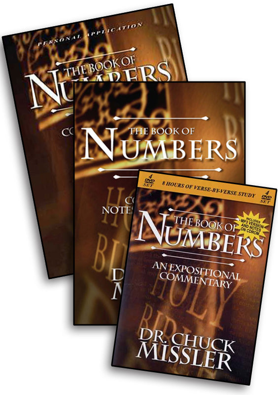 Numbers: Commentary Study Set