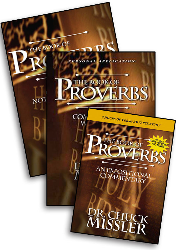 Proverbs: Commentary Study Set
