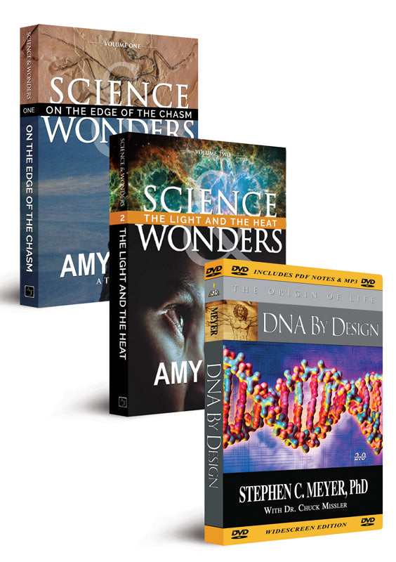 Science Bundle: Science & Wonders Vol.1 & 2, DNA By Design