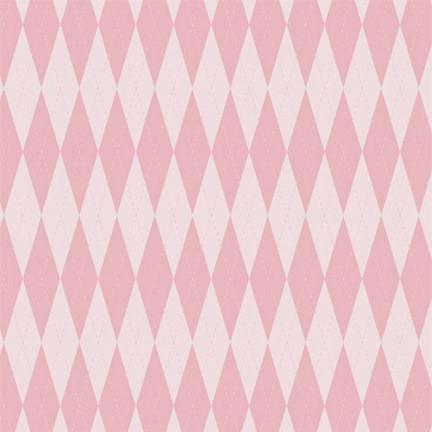 Argyle Photo Backdrop - Baby Girl Pink