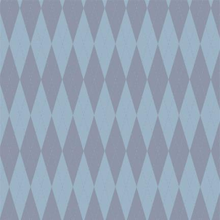 Argyle Photo Backdrop - Blue
