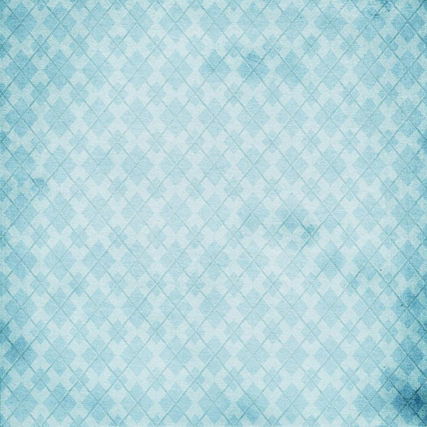 Argyle Photo Backdrop - Blue Grunge