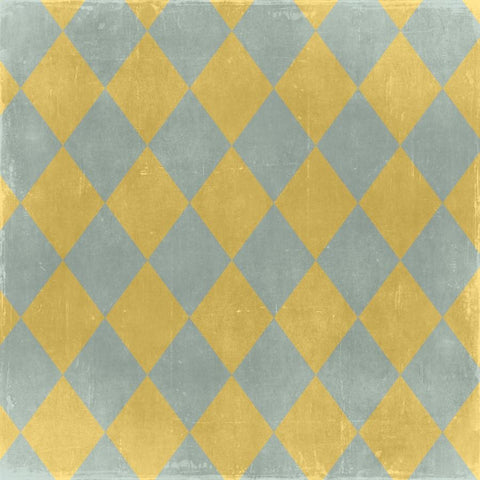 Argyle Photo Backdrop - Gray and Yellow Diamonds Discontinued Backdrops SoSo Creative