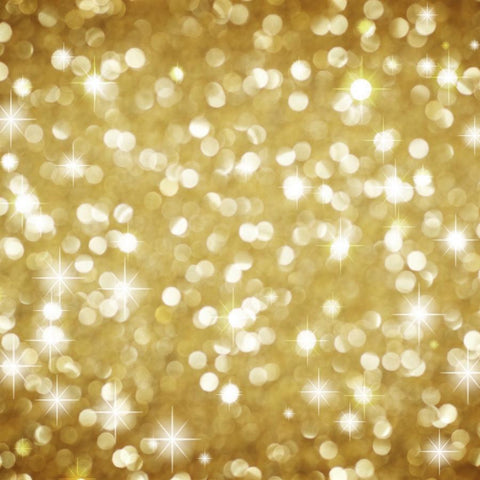 Bokeh Photo Backdrop - Holiday Gold Backdrops SoSo Creative