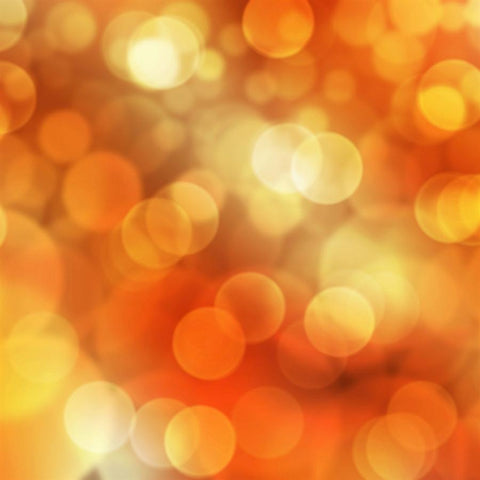 Bokeh Backdrop Orange Sparkle