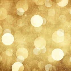 Bokeh Backdrop Retro Gold Cheer